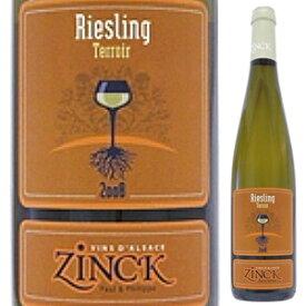 【6本〜送料無料】リースリング テロワール 2015 ドメーヌ ジンク 750ml [白]Riesling Terroir Domaine Zinck