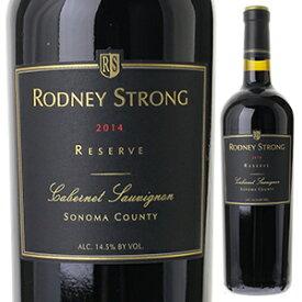 【6本〜送料無料】カベルネ ソーヴィニヨン リザーブ 2014 ロドニー ストロング ヴィンヤーズ 750ml [赤]Cabernet Sauvignon Reserve Rodney Strong Vineyards