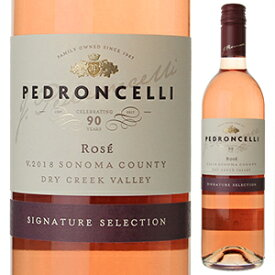 【6本〜送料無料】ドライ ロゼ ジンファンデル ドライ クリーク ヴァレー 2018 ペドロンチェリ ワイナリー 750ml [ロゼ]Dry Rose Zinfandel Dry Creek Valley Pedroncelli Winery [スクリューキャップ]