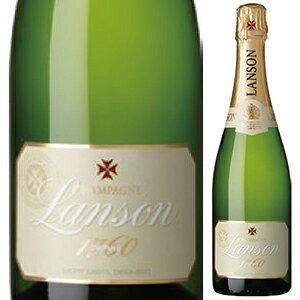 【6本〜送料無料】[5月14日(金)以降発送予定] [375ml]ランソン アイボリーラベル ドミ セック NV ランソン 375ml [発泡白] [ハーフボトル]Lanson Ivory Label Demi Sec