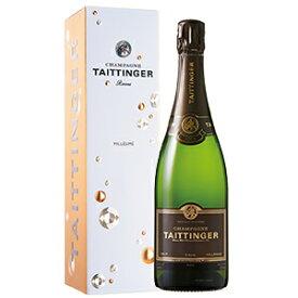 【6本〜送料無料】[11月6日(金)以降発送予定][ギフトボックス入り]ブリュット ミレジメ ボックス入リ 2012 テタンジェ 750ml [発泡白]Brut Mill sim With Box Champagne Taittinger