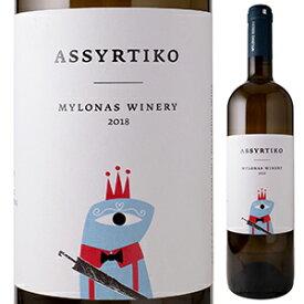 【6本〜送料無料】アシルティコ 2019 ミロナス ワイナリー 750ml [白]Assyrtiko Mylonas Winery