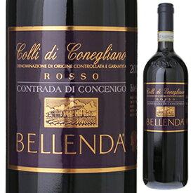 【6本〜送料無料】コントラーダ ディ コンチェニゴ コッリ ディ コネリアーノ ロッソ 2012 ベッレンダ 750ml [赤]Contrada Di Concenigo Colli Di Conegliano Rosso Bellenda