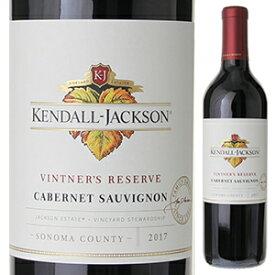 【6本〜送料無料】ヴィントナーズ リザーヴ カベルネ ソーヴィニヨン 2018 ケンダル ジャクソン 750ml [赤]Vintners Reserve Cabernet Sauvignon Kendall Jackson