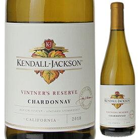【6本〜送料無料】ヴィントナーズ リザーヴ シャルドネ 2019 ケンダル ジャクソン 750ml [白]Vintners Reserve Chardonnay Kendall Jackson