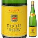 【6本〜送料無料】ジョンティ ヒューゲル 2018 ファミーユ ヒューゲル 750ml [白]Gentil Hugel Famille Hugel [サクラ…