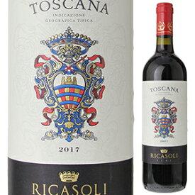 【6本〜送料無料】トスカーナ 2017 バローネ リカーゾリ 750ml [赤]Toscana Barone Ricasoli