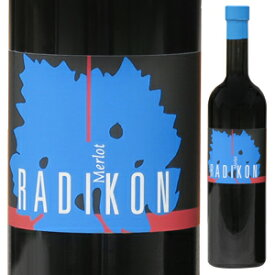 【6本〜送料無料】メルロー 2004 ラディコン 500ml [赤]Merlot Radikon [自然派][無添加]