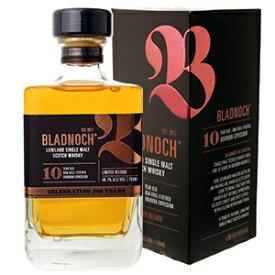 【6本〜送料無料】ブラドノック 10年 700ml [ウイスキー] Bladnoch 10Y