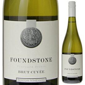 【6本〜送料無料】ファウンド ストーン ブリュット キュヴェ NV バートン ヴィンヤーズ 750ml [白]Found Stone Brut Cuvee Berton Vineyards Pty Ltd [スクリューキャップ]