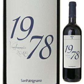 【6本〜送料無料】1978 サン パトリニャーノ 2018 サン パトリニャーノ 750ml [赤]1978 San Patrignano