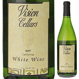 【6本〜送料無料】ホワイト ワイン カリフォルニア 2017 ヴィジョン セラーズ 750ml [白]White Wine California Vision Cellars