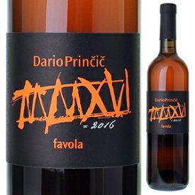 【6本〜送料無料】ビアンコ ファヴォラ 2016 ダリオ プリンチッチ 750ml [白]Bianco Favola Dario Princic [自然派]