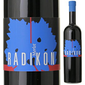 【6本〜送料無料】メルロー 2003 ラディコン 500ml [赤]Merlot Radikon [自然派][無添加]
