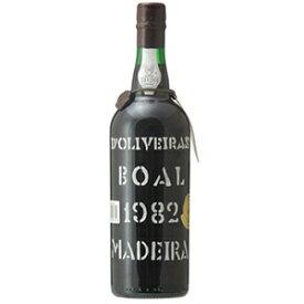 【送料無料】[6月25日(金)以降発送予定]マデイラ ブアル 1982 ペレイラ ドリヴェイラ 750ml [マデイラ]Madeira Boal Pereira D'oliveira