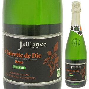 【6本〜送料無料】クレレット ド ディー ブリュット オーガニック NV ジャイアンス 750ml [発泡白]Clairette De Die Brut Organic Jaillance