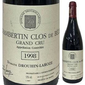 【送料無料】シャンベルタン クロ ド ベーズ グラン クリュ 1998 ドメーヌ ドルーアン ラローズ 750ml [赤]Chambertin Clos De Beze Grand Cru Domaine Drouhin-Laroze