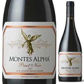 【6本〜送料無料】アルファ ピノ ノワール 2019 モンテス 750ml [赤]Alpha Pinot Noir Montes