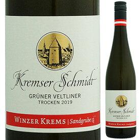 【6本〜送料無料】クレムザー シュミット グリューナー フェルトリーナー 2019 ヴィンツァー クレムス 750ml [白]Kremser Schmidt Gruner Veltliner Winzer Krems [スクリューキャップ]