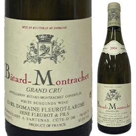 【送料無料】バタール モンラッシェ グラン クリュ 2002 ドメーヌ フルーロ ラローズ 750ml [白]Batard-Montrachet Grand Cru Domaine Fleurot-Loarose