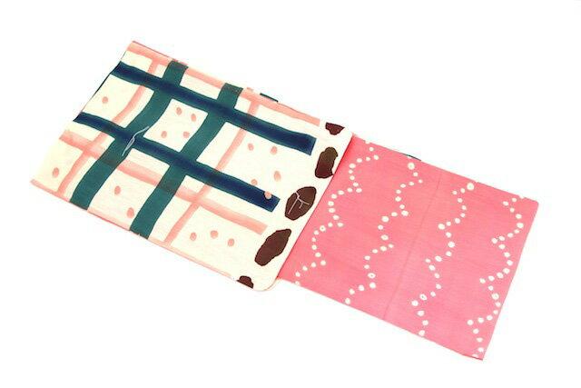新柄 女性用 ブランド浴衣 ピンク×クリーム ツモリチサト tsumorichisato 女物 夏 祭り 浴衣セット レディース レトロ 通販 女 浴衣帯 下駄 浴衣3点セット(3点セット)にも対応【半】