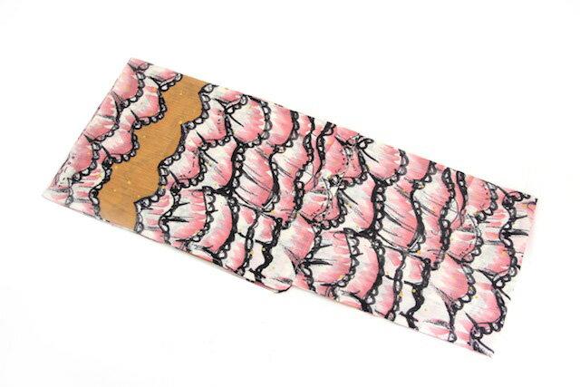 新柄 女性用 ブランド浴衣 ピンク×フリル模様 ツモリチサト tsumorichisato 女物 夏 祭り 浴衣セット レディース レトロ 通販 女 浴衣帯 下駄 浴衣3点セット(3点セット)にも対応【半】