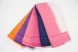 訳あり 女物 正絹 半幅帯 花柄 某ブランド 半巾帯 浴衣 ゆかた 袴帯 はかま 絹100% 送料無料