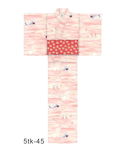 tsumori chisato 新作夏きもの なつの海(ピンク) プレタ(仕立て上がり) ポリエステル100% セオα 縫製済 ツモリチサト ゆかた ユカタ 花火大会 デート 着付け レディース浴衣 女性 高級 可愛い メール便不可