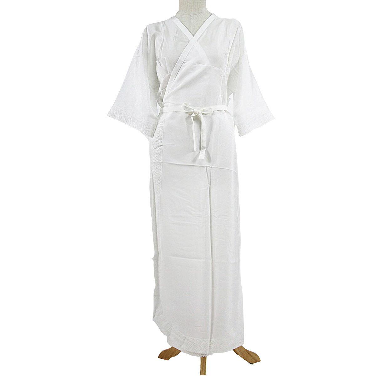 正絹 スリップ M Lサイズ 白 絹ばら グンゼ 絹100% ウォッシャブルシルク スリップ 着物スリップ 和装下着 ゆかたスリップ 着付け 着物 長襦袢 和装肌着 レディース 婦人 ブランド kim