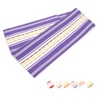 The size lengthiness of a reel of film or tape that I vinegar size LL size accessory Date which pure silk fabrics under-sash Hakata fabrics silk 100% dressing has a big in Japanese dress, and product made in Japan purplish red yellow pink green is long