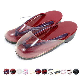 Kimono shop ※ Lady's casual clothes adjustable size dressing kimono lesson impossibility for the sandals synthetic leather urethane sole accessory convenience goods outing woman thing woman for the autumn shower sandals 24.0cm rain sandals rain which the