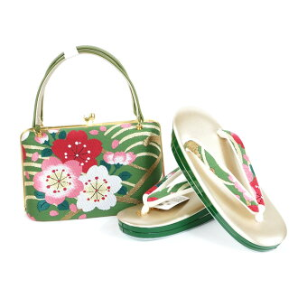 Shop dealing in kimono fabrics Iwasa pure silk fabrics obi material sandals bag set sandals 24.0cm kimono fashion coming-of-age ceremony New Year holidays gold gold full dress large size adjustable size 振袖留袖訪問着附下結婚式結納入学式 celebration graduation ceremony d