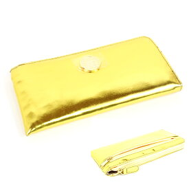 メール便送料無料 呉服屋 長財布 さいふ 財布 サイフ 浴衣用にもOK 金運UP 合皮 和装小物 大人 レディース 婦人 女物 プレゼント ゴールド 金