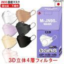 JN95 マスク 正規品 日本製 30枚セット 【即納 送料無料】N95 マスク 同等 個別包装 医療用クラス 高性能 立体 4層構…