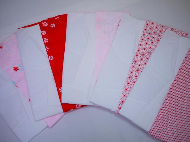訳あり 一部式長襦袢 女性用 着物 メーカー処分品 かわいい おしゃれ 和装 カラー 花柄 幾何学 メール便不可 トッカ