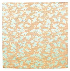 むす美 70唐長 正絹紋織 枝桜 ハザクラ 取り寄せ商品 むす美 musubi 掲載 和小物 風呂敷 シルクジャガード織 ポイント20倍 メール便不可 送料無料