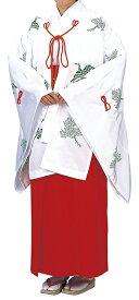 神寺用衣裳 千早 千印 白 取り寄せ商品 日本の踊り 掲載 寺 神社 巫女《女性用 レディース 洗える着物》 ポイント20倍 ポイント20倍 送料無料 送料込み