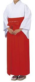 神寺用衣裳 神職用袴 景印 アンドン型 赤 取り寄せ商品 日本の踊り 掲載 袴 巫女 寺 神社《女性用 レディース 洗える着物》 ポイント20倍 ポイント20倍 送料無料