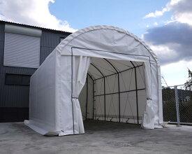 SHELLDOME(シェルドーム)バーチカル4x6 テント倉庫 パイプ車庫 テントガレージ