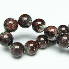 ガーデンクォーツ ブレスレット 13mm 苔入り水晶 庭園水晶 メンズ レディース Garden ブレス quartz [送料無料] 111-12155
