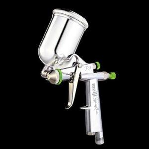 【重力式スプレーガン】:明治F55-GR(丸吹き)