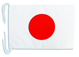 Mサイズ手旗・店頭装飾用 国旗日の丸[テトロン生地・34×50cm] 新元号「令和」奉祝