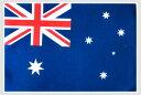 世界の国旗 ミニタオル・ハンドタオル オーストラリア国旗柄(素早い吸水・速乾のマイクロファイバー生地)ミニメガ…
