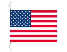 アメリカ USA 国旗 卓上旗 旗サイズ16×24cm テトロントロマット製 日本製 世界の国旗シリーズ