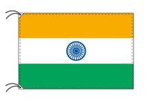 インド・国旗セット[DX]【アルミ合金ポール・取付部品付・テトロン国旗