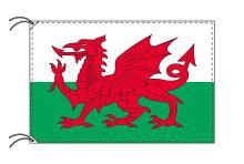 ウェールズ・高級国旗セット【アルミ合金ポール・取付部品付】【smtbーu】あす楽対応