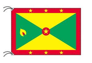 世界の国旗 グレナダ・高級国旗セット【アルミ合金ポール・壁面取付部品付】【smtb-u】