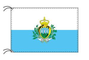 世界の国旗 サンマリノ・高級国旗セット【アルミ合金ポール・壁面取付部品付】【smtb-u】