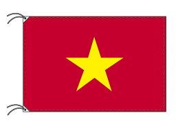 ベトナム 国旗 スタンドセット 70×105cm国旗 2mポール 金色扁平玉 新型フロアスタンドのセット 世界の国旗シリーズ