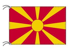 世界の国旗 マケドニア・高級国旗セット【アルミ合金ポール・壁面取付部品付】【smtb-u】